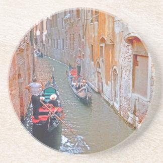 Venice - Gondolier Drink Coaster