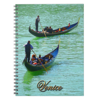 Venice Gondoliers Notebook