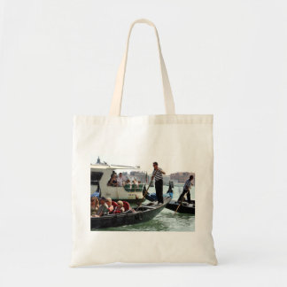 VENICE GONDOLIERS ON THE GRAND CANAL CANVAS BAG