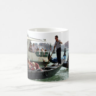 VENICE GONDOLIERS ON THE GRAND CANAL COFFEE MUG