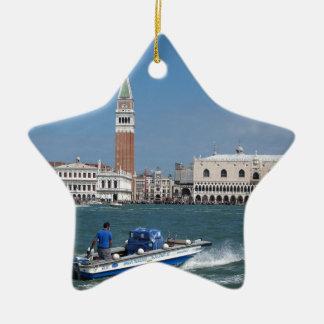 Venice Grand Canal Ceramic Ornament