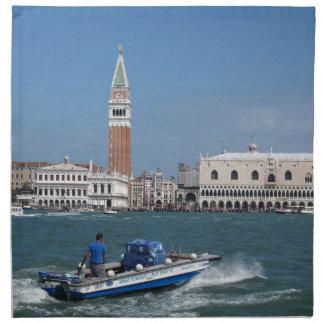Venice Grand Canal Cloth Napkin