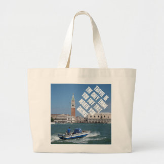 Venice Grand Canal Large Tote Bag