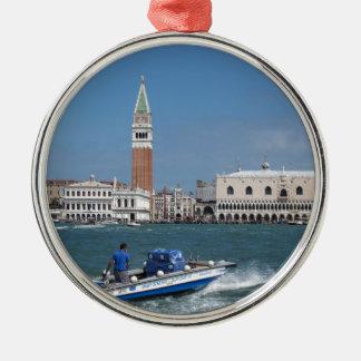 Venice Grand Canal Metal Ornament