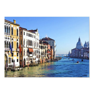 Venice Grand Canal with Love Quote Card