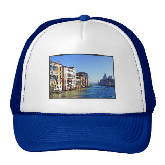 Venice Grand Canal with Love Quote Trucker Hat
