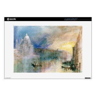 "Venice: Grand Canal with Santa Maria della Salute 15"" Laptop Decal"