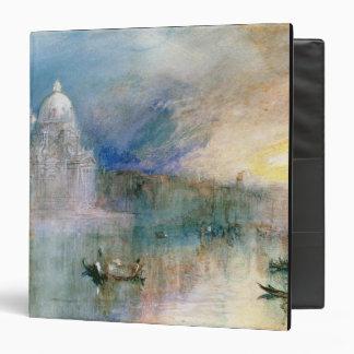 Venice: Grand Canal with Santa Maria della Salute Vinyl Binders
