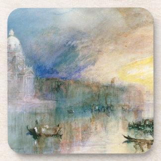 Venice: Grand Canal with Santa Maria della Salute Coaster