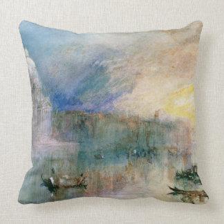 Venice: Grand Canal with Santa Maria della Salute Pillows