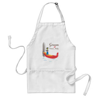 Venice Groom Adult Apron