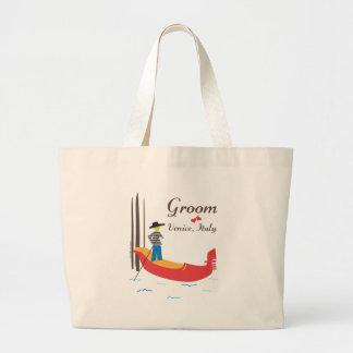 Venice Groom Large Tote Bag