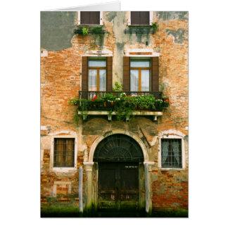 Venice House Notecard Greeting Card