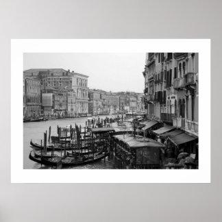 Venice in B&W Posters