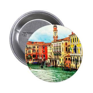 Venice - Italy 2 Inch Round Button
