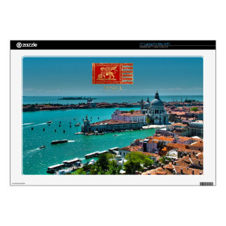 "Venice, Italy - Aerial View 17"" Laptop Skin"