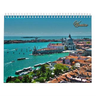 Venice, Italy - Aerial View Calendar