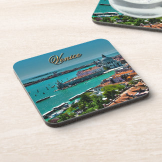 Venice, Italy - Aerial View Drink Coaster