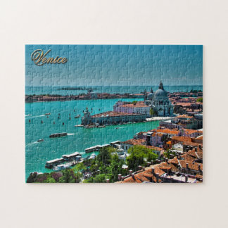 Venice, Italy - Aerial View Jigsaw Puzzle
