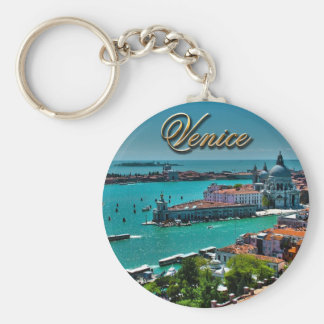 Venice, Italy - Aerial View Keychain