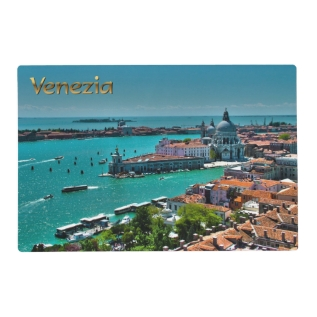 Venice, Italy - Aerial View Placemat at Zazzle