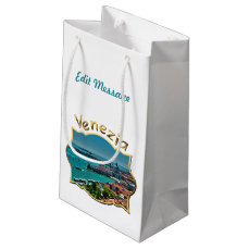Venice, Italy - Aerial View Small Gift Bag