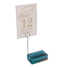 Venice, Italy - Aerial View Table Number Holder