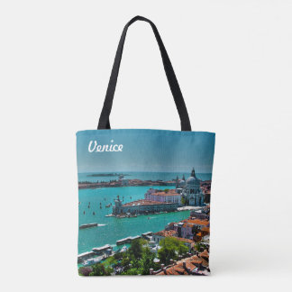 Venice, Italy - Aerial View Tote Bag