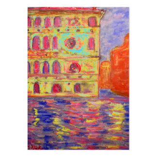 venice italy art large business cards (Pack of 100)