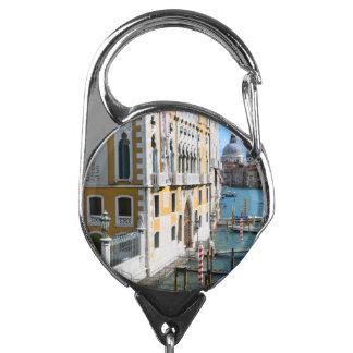 Venice Italy Badge Holder