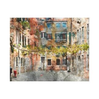 Venice Italy Buildings Canvas Print