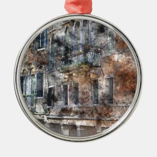 Venice Italy Buildings Metal Ornament