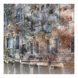 Venice Italy Buildings Panel Wall Art