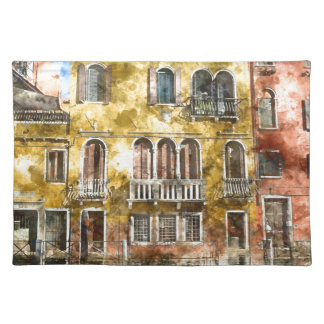 Venice Italy Buildings Placemat