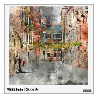 Venice Italy Buildings Wall Sticker
