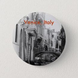 Venice, Italy Button