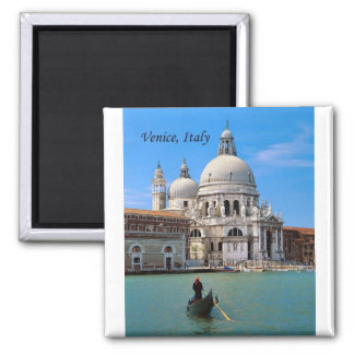 Venice, Italy (by St.K.) 2 Inch Square Magnet