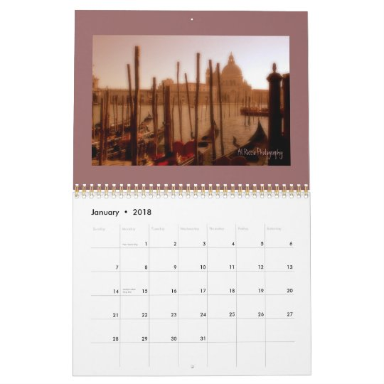 Venice, Italy Calendar