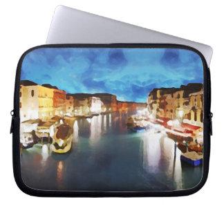 Venice_Italy_Canal_funda 10 Computer Sleeve