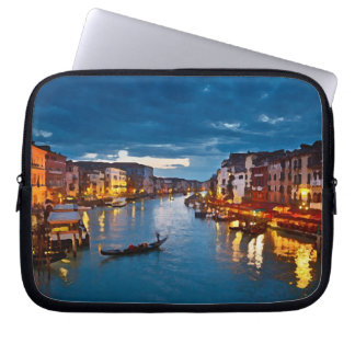 Venice_Italy_Canal_funda 10 Laptop Sleeve
