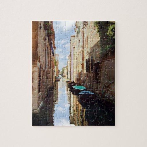 Venice Italy Canal Jigsaw Puzzle
