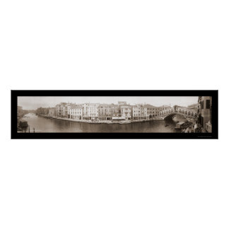 Venice Italy Canal Photo 1909 Print