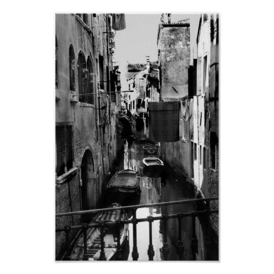 Venice, Italy Canal Poster