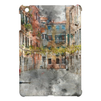 Venice Italy Colorful Buildings and Canals iPad Mini Cases