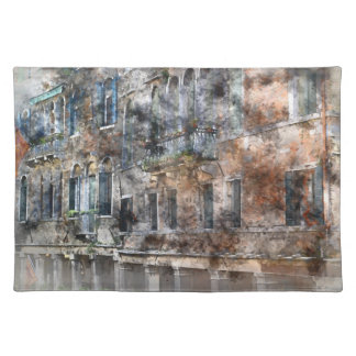 Venice Italy Colorful Buildings Placemat