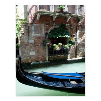 Venice,Italy - Gondola Detail Photo Postcard