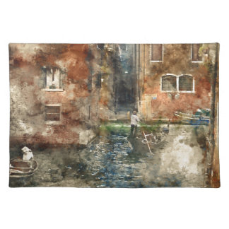 Venice Italy Gondola in the Canals Placemat