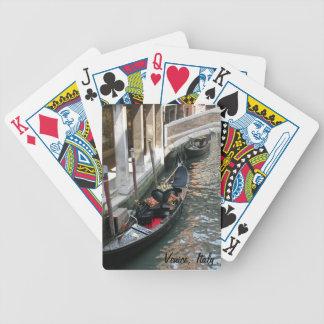 Venice, Italy Gondola Playing Cards