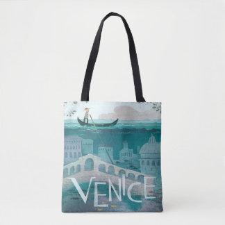 Venice Italy Gondola travel vacation vintage Tote Bag