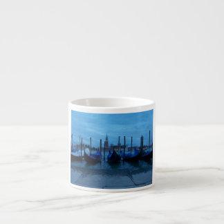 Venice Italy Gondolas Espresso Cup